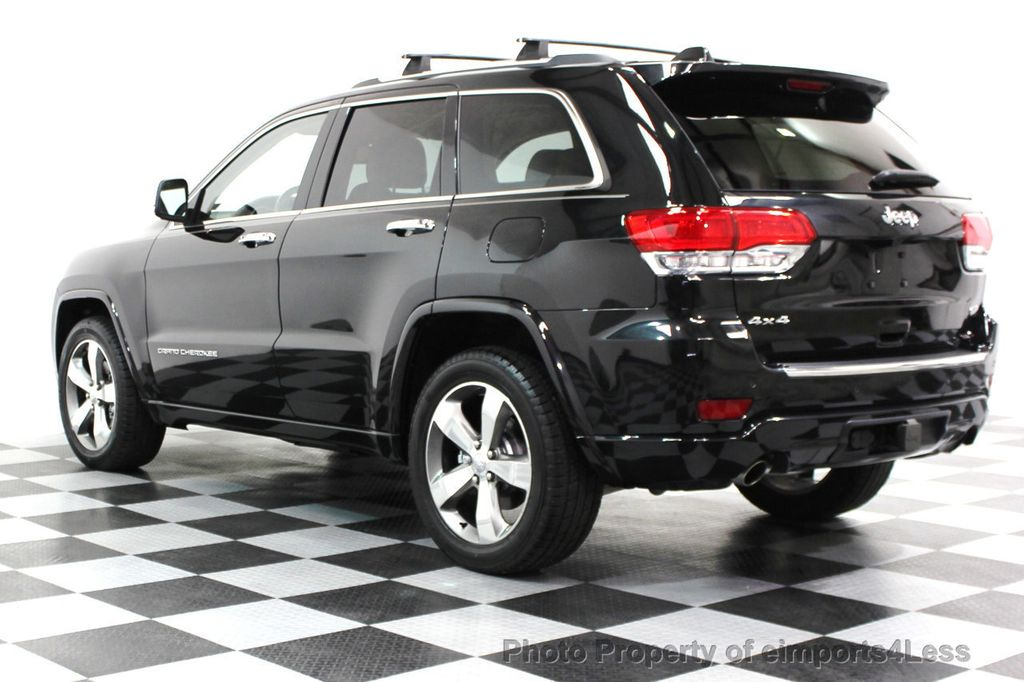 2014 Jeep Grand Cherokee CERTIFIED JEEP GRAND CHEROKEE V6 4WD OVERLAND - 16212549 - 25