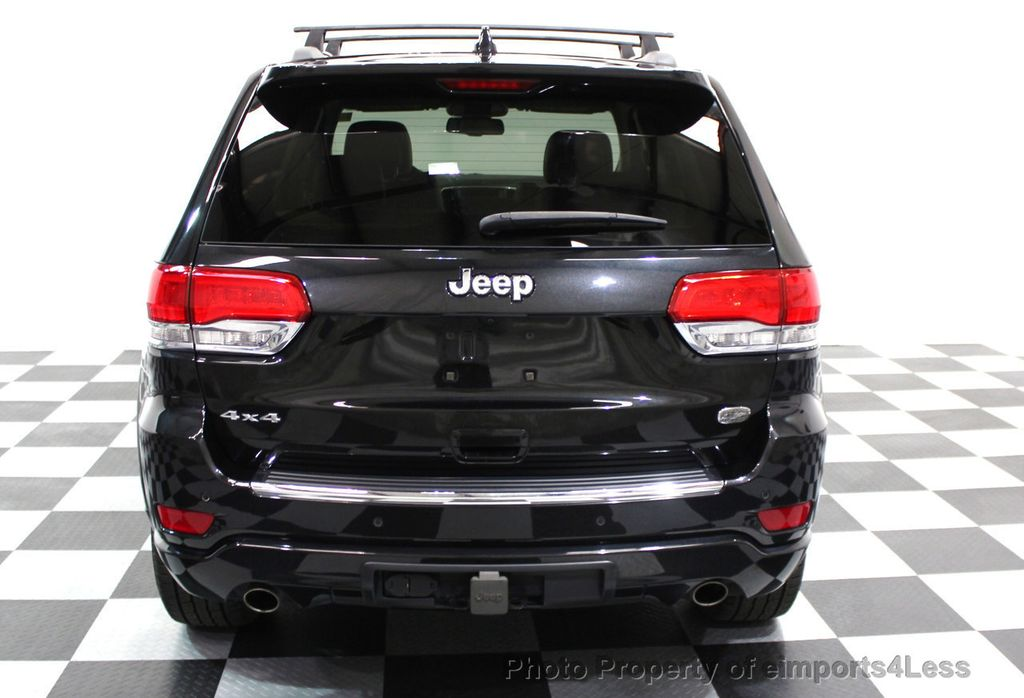 2014 Jeep Grand Cherokee CERTIFIED JEEP GRAND CHEROKEE V6 4WD OVERLAND - 16212549 - 27