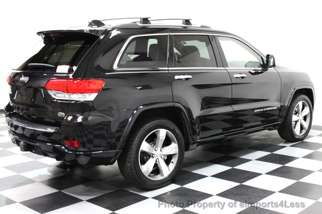 2014 Jeep Grand Cherokee CERTIFIED JEEP GRAND CHEROKEE V6 4WD OVERLAND - 16212549 - 28