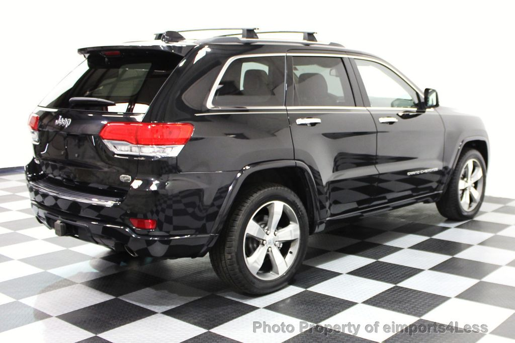 2014 Jeep Grand Cherokee CERTIFIED JEEP GRAND CHEROKEE V6 4WD OVERLAND - 16212549 - 2