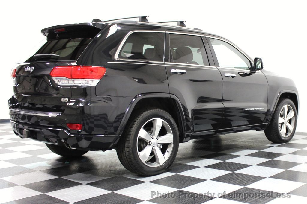 2014 Jeep Grand Cherokee CERTIFIED JEEP GRAND CHEROKEE V6 4WD OVERLAND - 16212549 - 29