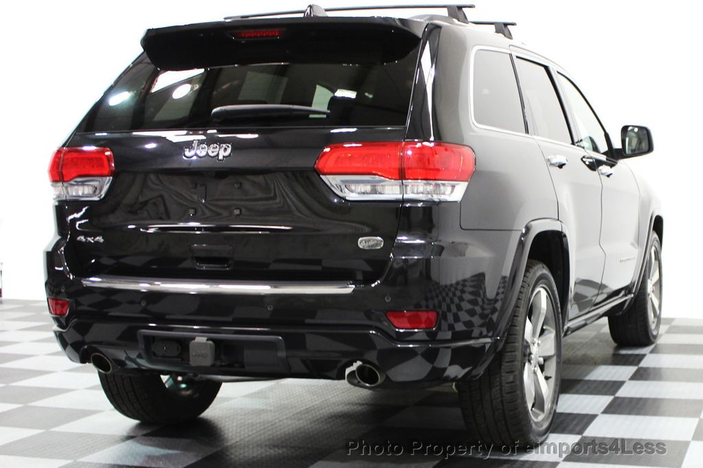 2014 Jeep Grand Cherokee CERTIFIED JEEP GRAND CHEROKEE V6 4WD OVERLAND - 16212549 - 30