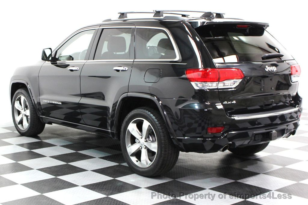 2014 Jeep Grand Cherokee CERTIFIED JEEP GRAND CHEROKEE V6 4WD OVERLAND - 16212549 - 3
