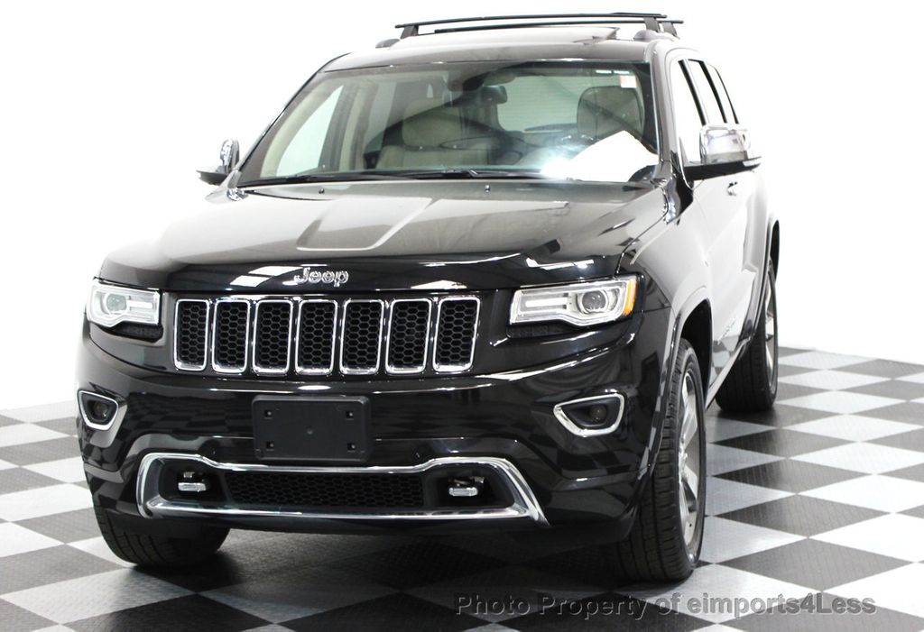 2014 Jeep Grand Cherokee CERTIFIED JEEP GRAND CHEROKEE V6 4WD OVERLAND - 16212549 - 56