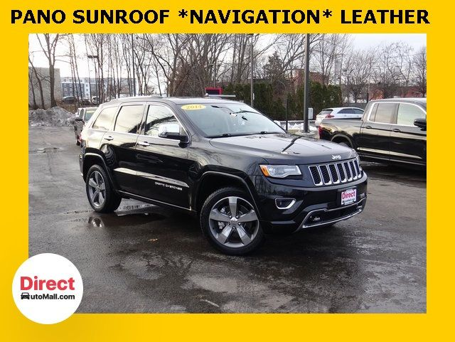 Jeep Grand Cherokee Overland >> 2014 Used Jeep Grand Cherokee Overland At Direct Automall Com Serving Framingham Ma Iid 19671685