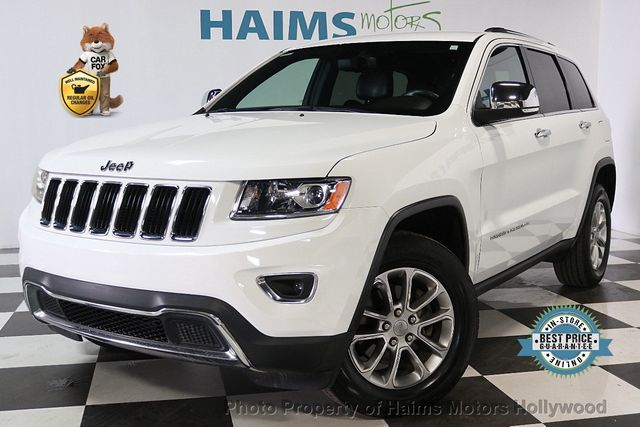 2014 Used Jeep Grand Cherokee RWD 4dr Limited At Haims Motors Serving Fort  Lauderdale, Hollywood, Miami, FL, IID 17518578