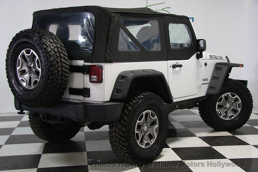 2014 Jeep Wrangler 4WD 2dr Sport - 16894515 - 6
