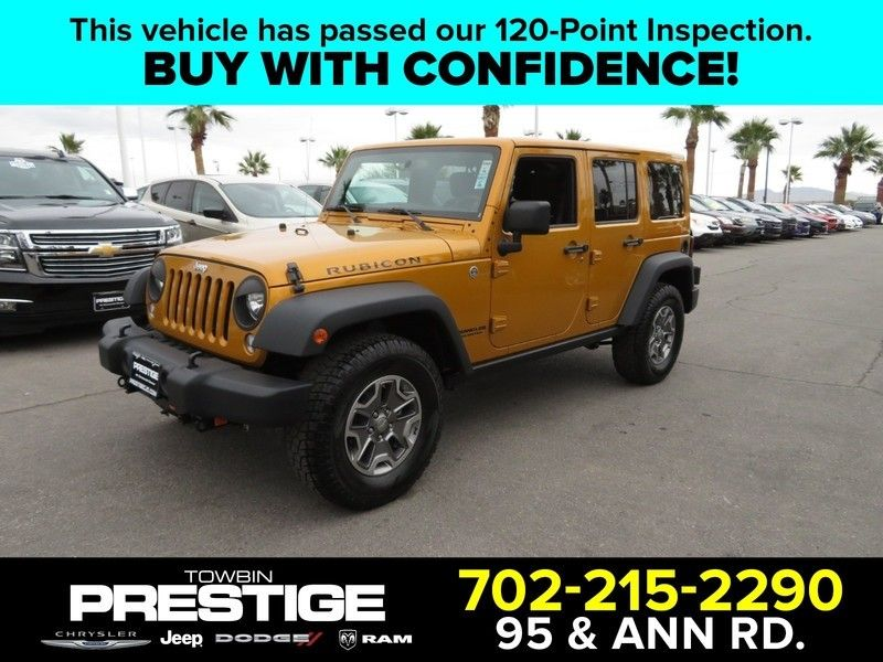 2014 Jeep WRANGLER UNLIMITED RUBICON - 17210106 - 0