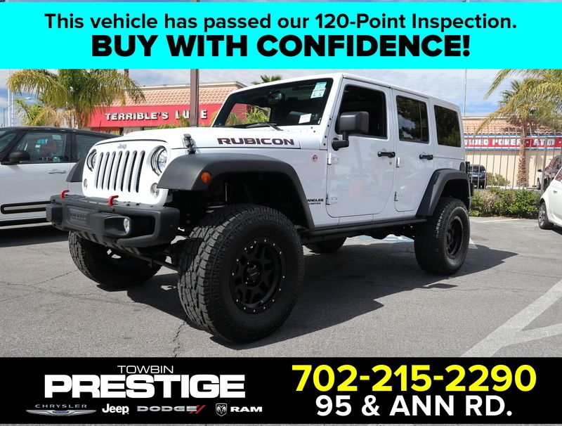 2014 Jeep WRANGLER UNLIMITED RUBICON - 17407018 - 0