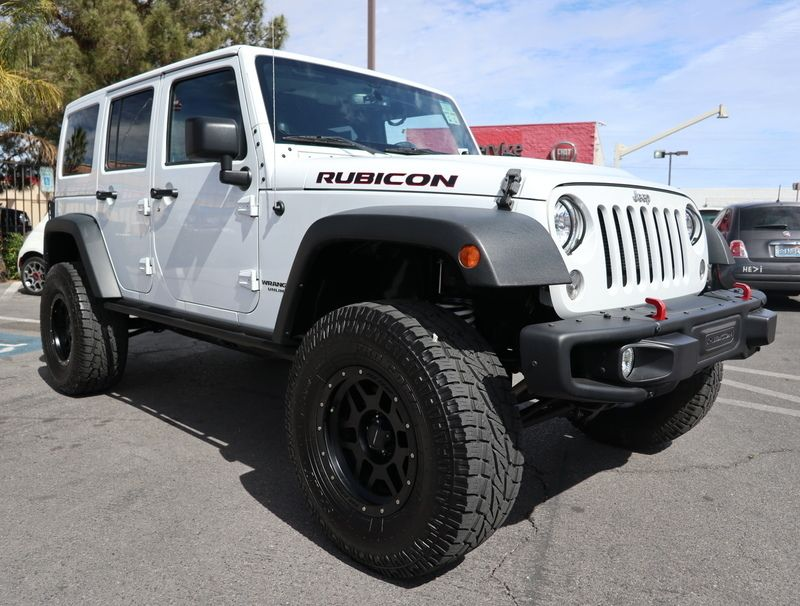 2014 Jeep WRANGLER UNLIMITED RUBICON - 17407018 - 2