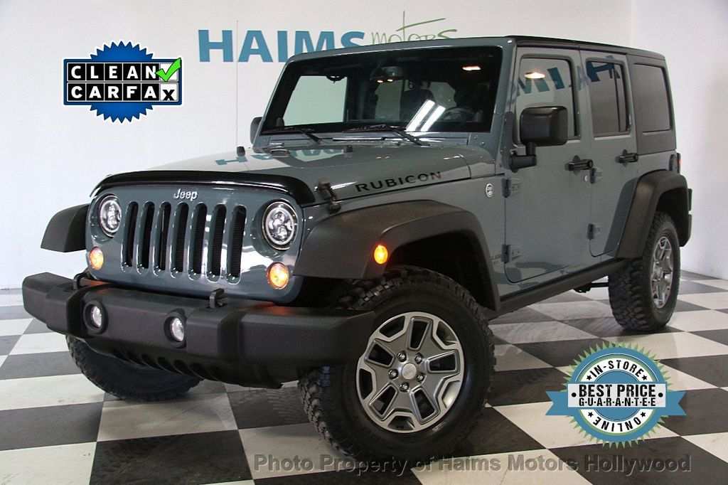 2014 Jeep Wrangler Unlimited 4WD 4dr Rubicon - 17409672 - 0