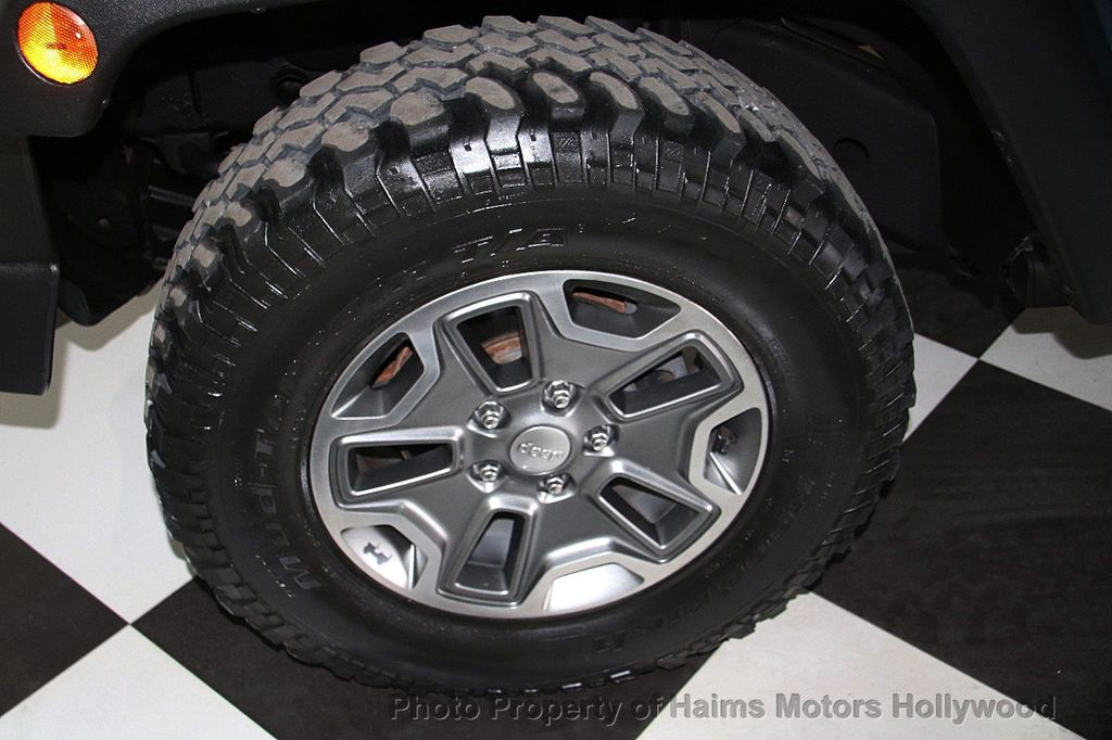 2014 Jeep Wrangler Unlimited 4WD 4dr Rubicon - 17409672 - 30
