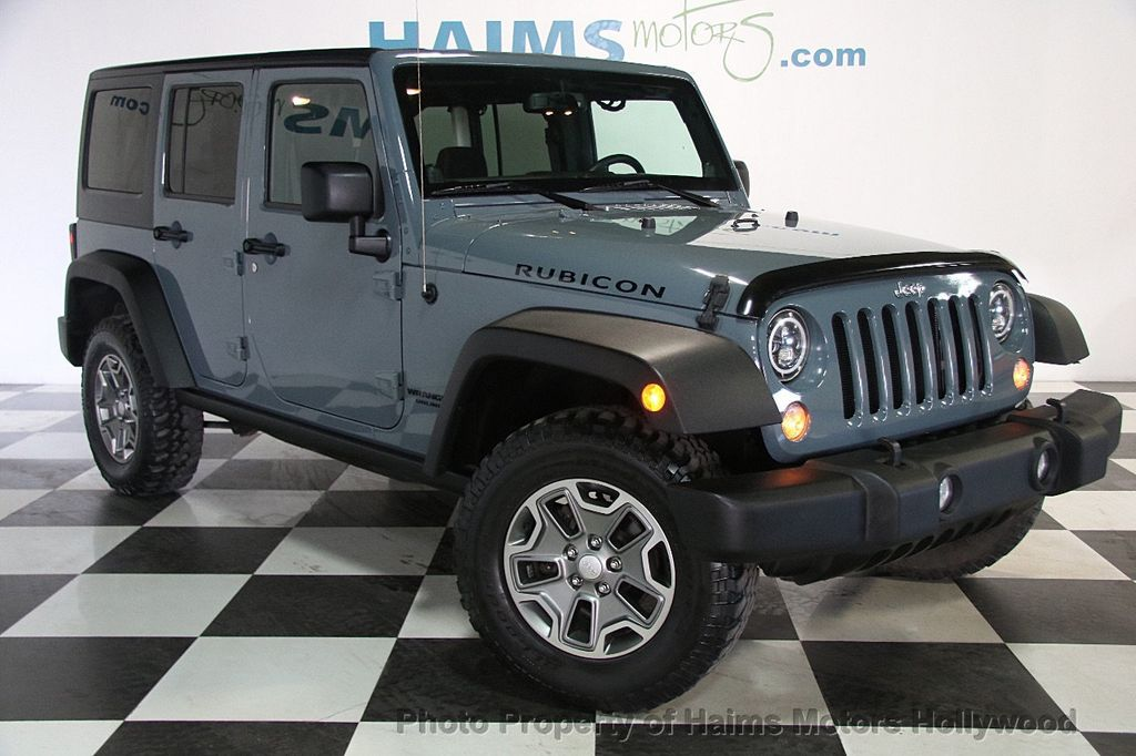 2014 Jeep Wrangler Unlimited 4WD 4dr Rubicon - 17409672 - 3