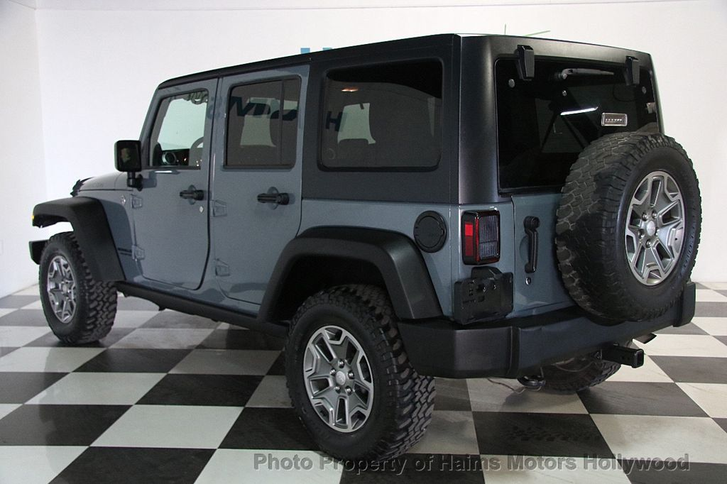 2014 Jeep Wrangler Unlimited 4WD 4dr Rubicon - 17409672 - 4