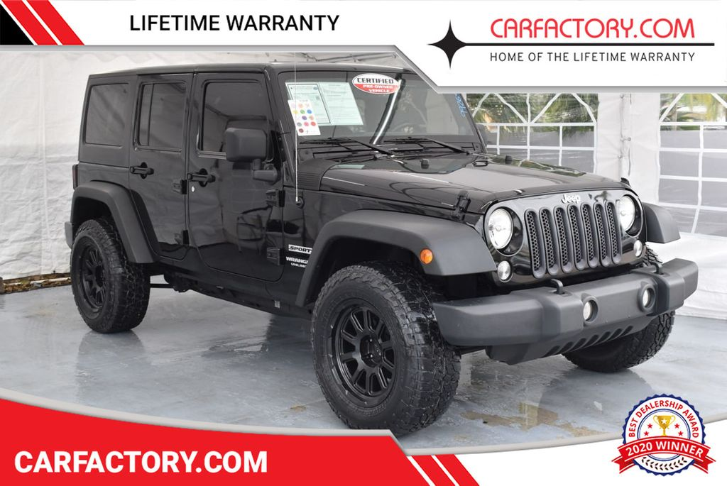 2014 Jeep Wrangler Unlimited 4WD 4dr Willys Wheeler - 18343621 - 0