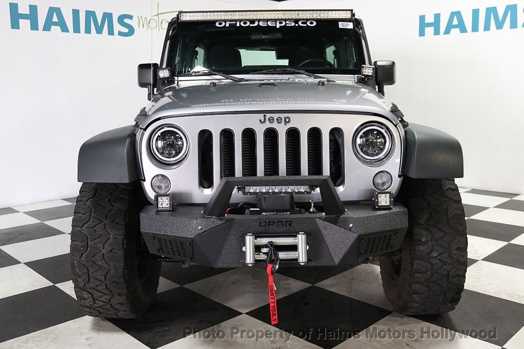 2014 Jeep Wrangler Unlimited 4WD 4dr Willys Wheeler - 17810296 - 4