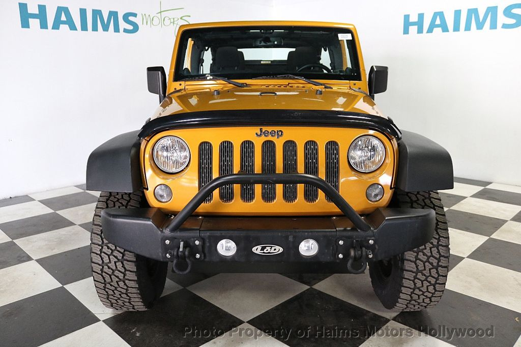 2014 Jeep Wrangler Unlimited 4WD 4dr Willys Wheeler - 18688932 - 10