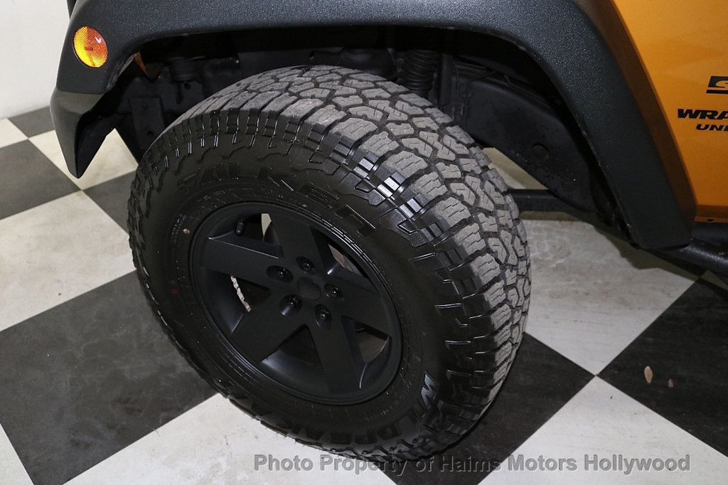 2014 Jeep Wrangler Unlimited 4WD 4dr Willys Wheeler - 18688932 - 39