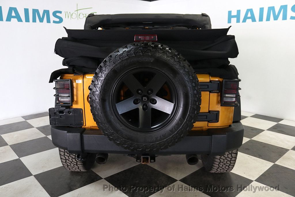 2014 Jeep Wrangler Unlimited 4WD 4dr Willys Wheeler - 18688932 - 5