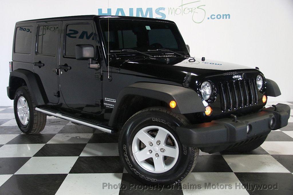 2014 Jeep Wrangler Unlimited Sport - 17140818 - 3