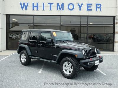 2014 Jeep Wrangler Unlimited Unlimited Rubicon SUV
