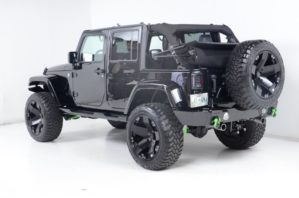 2014 Jeep Wrangler Unlimited Unlimited Sahara Altitude Lift/Fox Shocks - 16759356 - 11