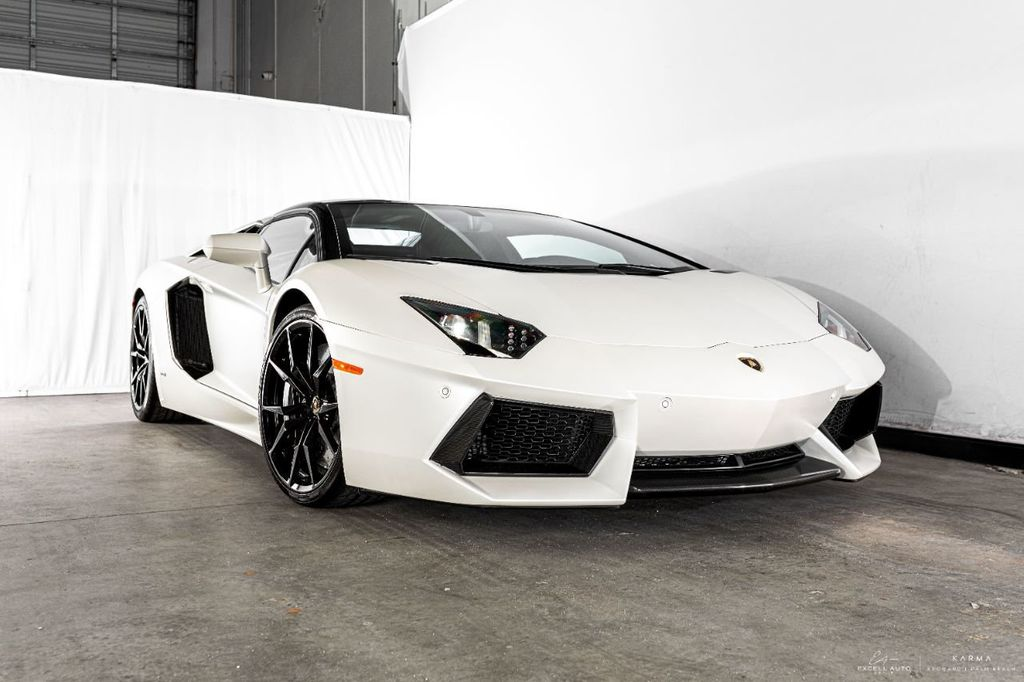 2014 Used Lamborghini Aventador 2dr Convertible at Excell Auto Group  Serving Boca Raton, FL, IID 18806032
