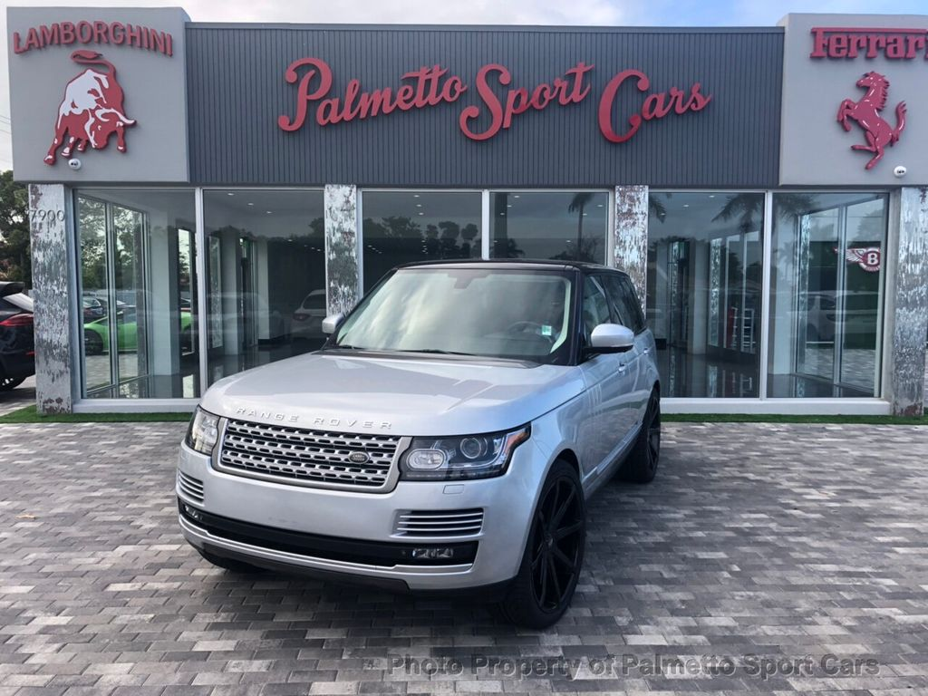 2014 Land Rover Range Rover 4WD 4dr HSE - 18691598 - 0