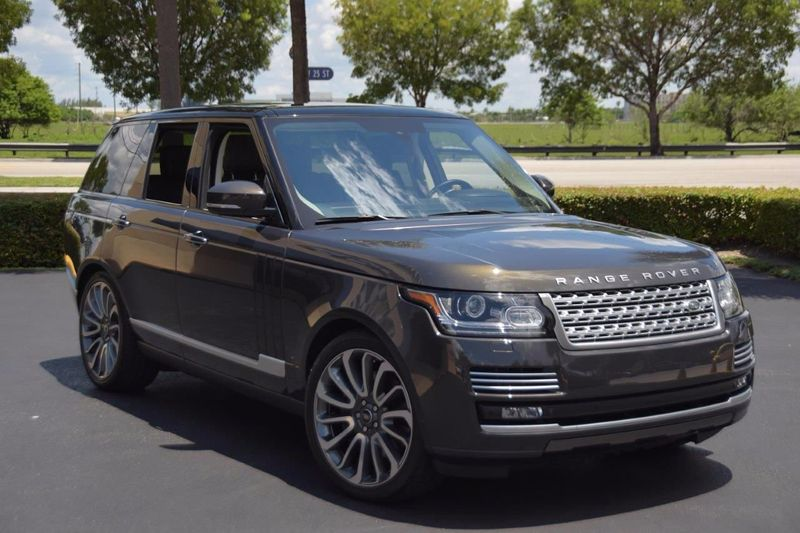 2014 Land Rover Range Rover 4WD 4dr SC Autobiography - Click to see full-size photo viewer