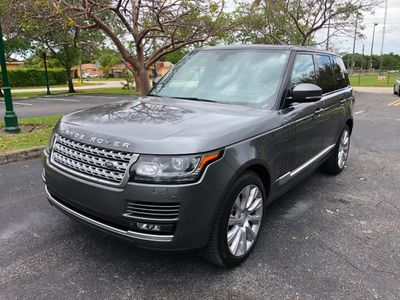 2014 Land Rover Range Rover 4WD 4dr Supercharged SUV