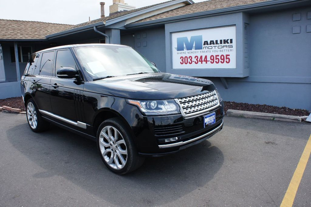 2014 Land Rover Range Rover 4WD 4dr Supercharged - 17745276 - 0