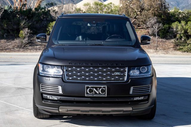 2014 Land Rover Range Rover 4WD 4dr Supercharged Autobiography Black LWB - Click to see full-size photo viewer