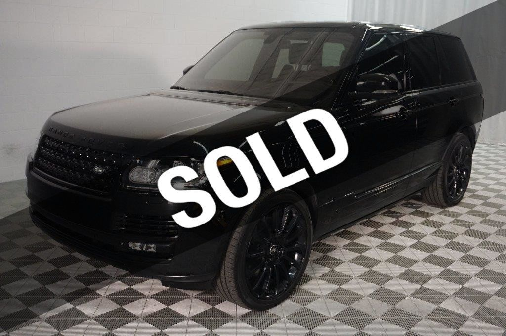 2014 Land Rover Range Rover 4WD 4dr Supercharged Ebony Edition - 17385657 - 0