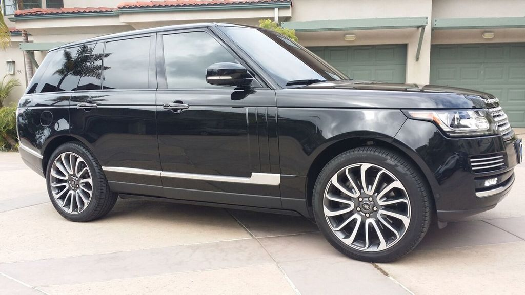 2014 used land rover range rover hse supercharged. Black Bedroom Furniture Sets. Home Design Ideas