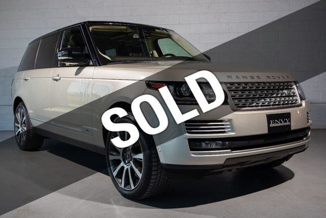 Land Rover Warranty >> 2014 Used Land Rover Range Rover Lwb Autobiography Land Rover Cpo Warranty Thru 09 2020 100k At Envy Auto Group Serving St Clair Shores Mi Iid