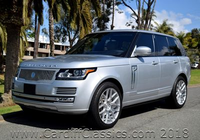 2014 Land Rover Range Rover Range Rover Supercharged HSE SUV