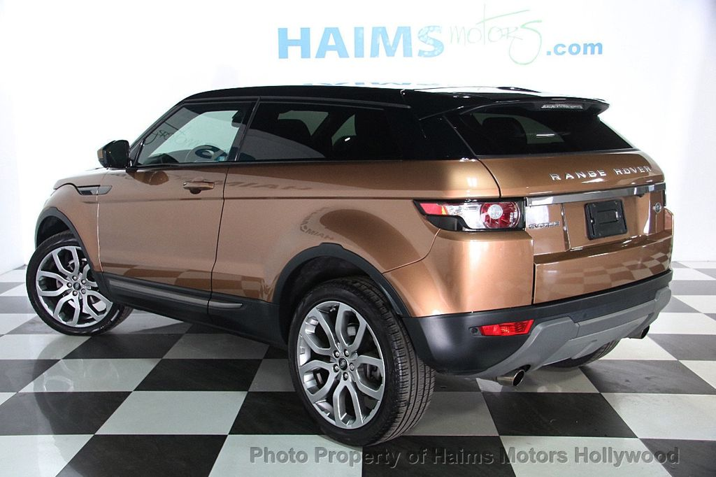 2014 used land rover range rover evoque 2dr coupe pure premium at haims motors hollywood serving. Black Bedroom Furniture Sets. Home Design Ideas