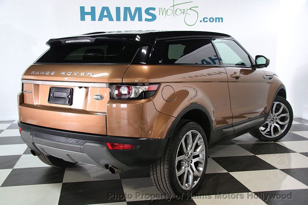 2014 used land rover range rover evoque 2dr coupe pure. Black Bedroom Furniture Sets. Home Design Ideas