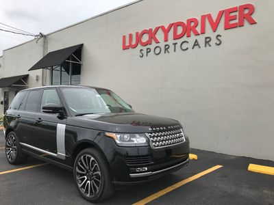 2014 Land Rover Range Rover HSE *Autobiography Wheels* - Click to see full-size photo viewer