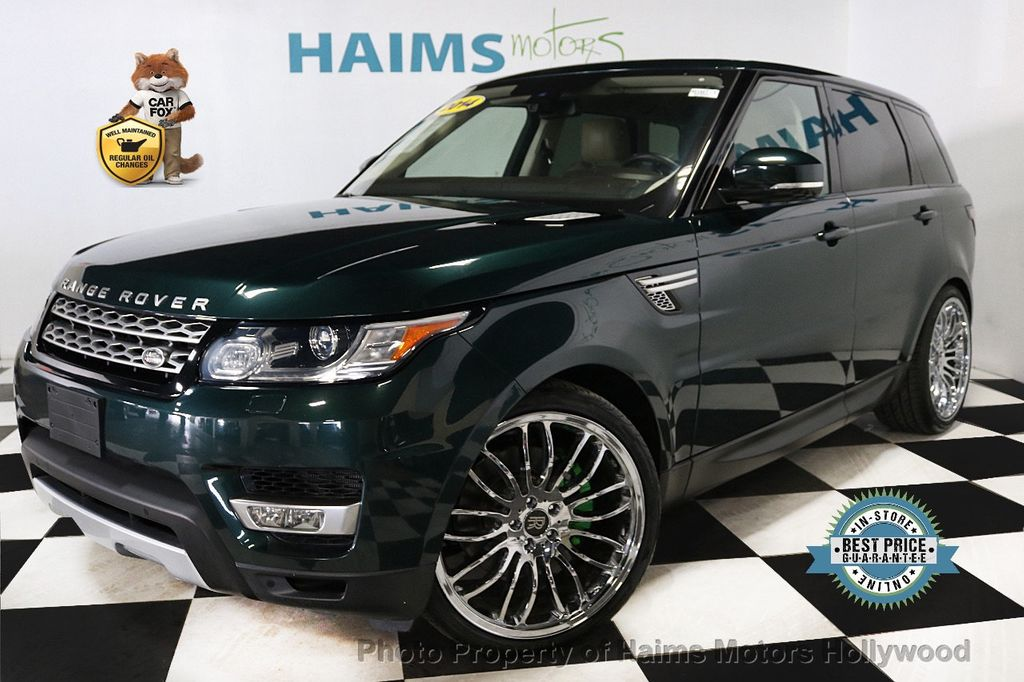 2014 Land Rover Range Rover Sport 4WD 4dr HSE - 18411530 - 0
