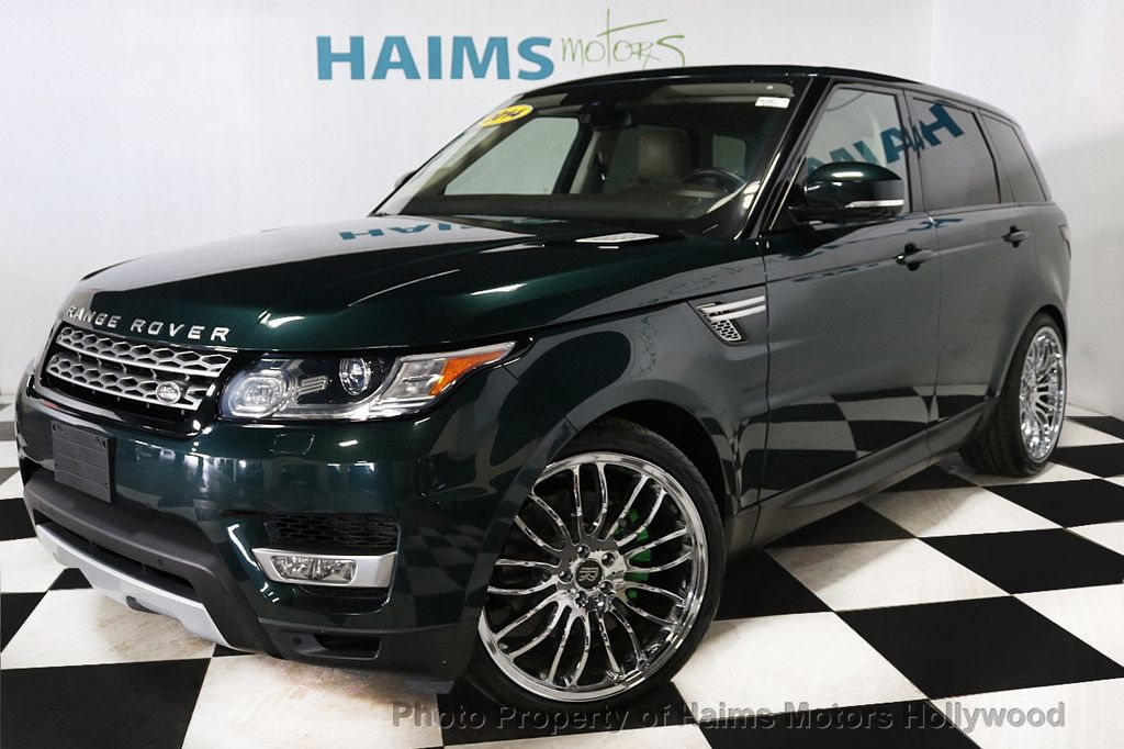 2014 Land Rover Range Rover Sport 4WD 4dr HSE - 18411530 - 1
