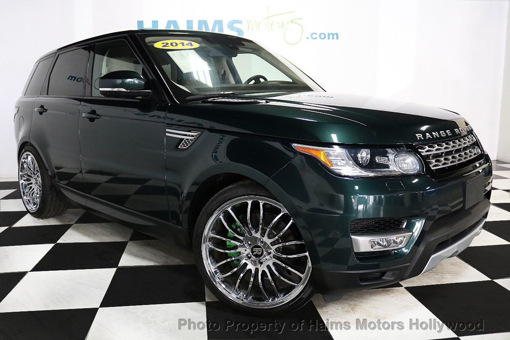2014 Land Rover Range Rover Sport 4WD 4dr HSE - 18411530 - 3