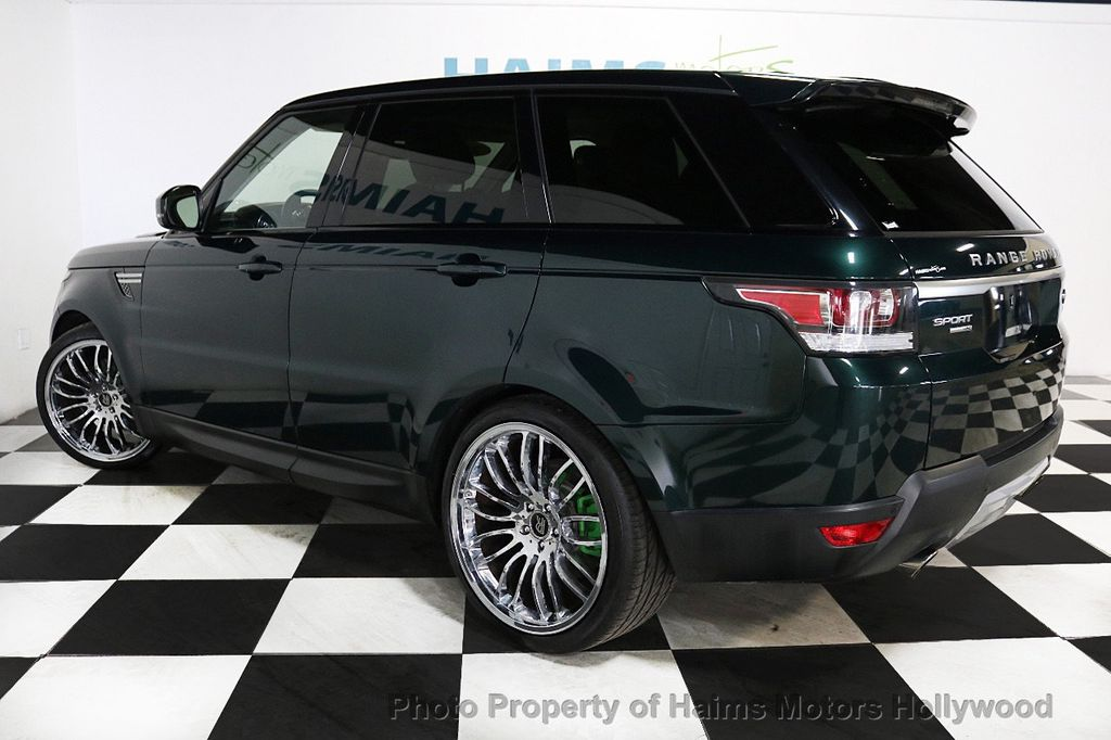 2014 Land Rover Range Rover Sport 4WD 4dr HSE - 18411530 - 4