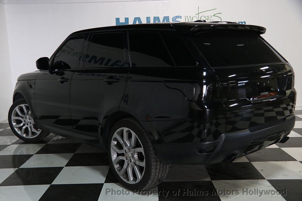 2014 used land rover range rover sport 4wd 4dr se at haims motors ft lauderdale serving. Black Bedroom Furniture Sets. Home Design Ideas