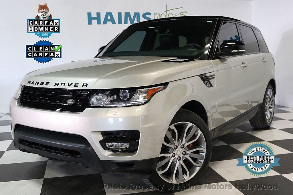 2014 Land Rover Range Rover Sport 4WD 4dr Supercharged - 17563075 - 0