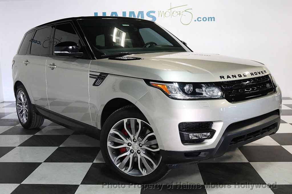 2014 Land Rover Range Rover Sport 4WD 4dr Supercharged - 17563075 - 3