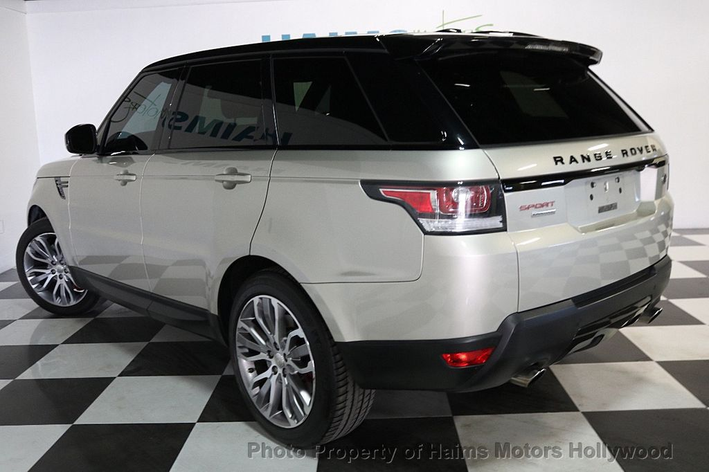 2014 Land Rover Range Rover Sport 4WD 4dr Supercharged - 17563075 - 4