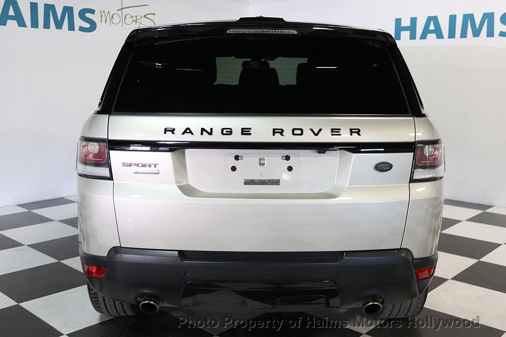 2014 Land Rover Range Rover Sport 4WD 4dr Supercharged - 17563075 - 5