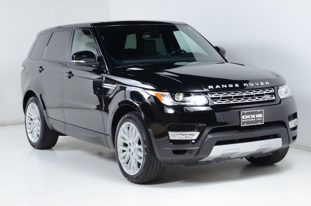2014 Land Rover Range Rover Sport HSE-Navigation-Rear Vision-21 Inch Wheels-Pano Roof - 16867424 - 4
