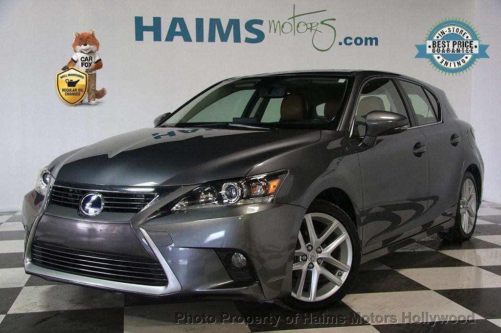 2014 Lexus CT 200h 5dr Sedan Hybrid - 17375743 - 0